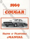 Facts And Features - Repro ~ 1969 Mercury Cougar
