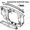 Seal - Radiator Support to Hood - Repro ~ 1967 - 1969 Mercury Cougar / 1967 - 1969 Ford Mustang - 26532