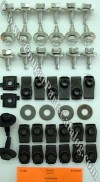 Fender Bolt Kit - fasteners - Repro ~ 1969 - 1970 Mercury Cougar / 1969 - 1970 Ford Mustang