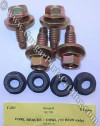 Fastener Kit - Cowl Brace to Cowl - Repro ~ 1967 - 1970 Mercury Cougar / 1967 - 1970 Ford Mustang